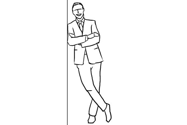 mẫu tạo dáng nam , posing guide